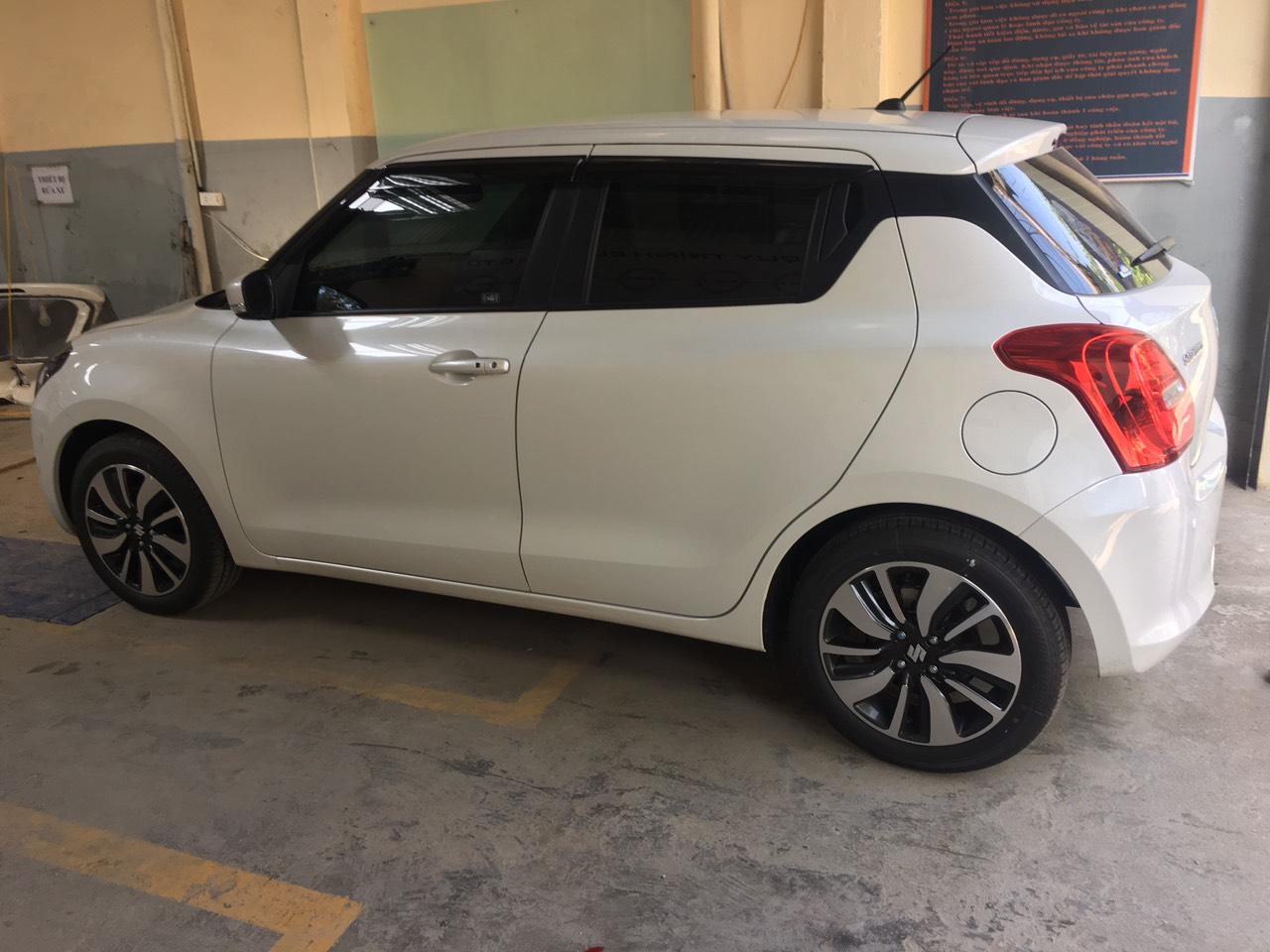 Đổi màu sơn xe ô tô Suzuki Swift